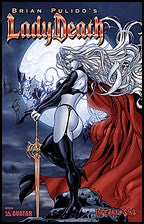 LADY DEATH: Infernal Sins Blood Red Convention Foi