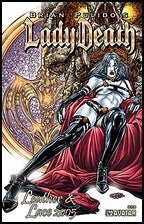 LADY DEATH: Leather and Lace 2005 Gold Foil