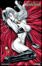 LADY DEATH 05 Leather  Lace Commem Martin Litho