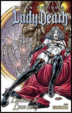LADY DEATH: Leather and Lace 2005 Prism Foil