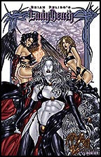 LADY DEATH: Lost Souls #0 Premium by Juan Jose Ryp Lithograph