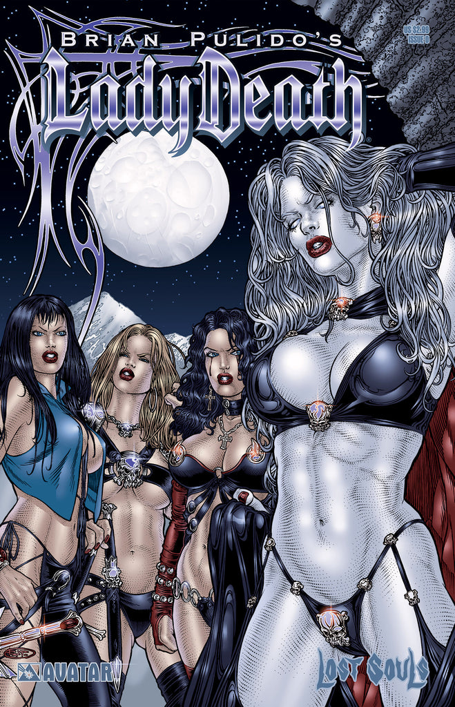 LADY DEATH: Blacklands  Bag Set