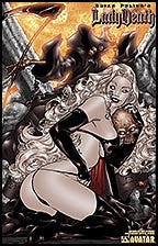 LADY DEATH: Lost Souls #0 Sensual by Rafa Lopez Lithograph
