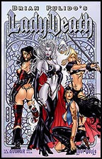 LADY DEATH: Lost Souls #1 Prism Foil