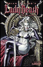 LADY DEATH: Masterworks Canvas