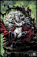 LADY DEATH Masterworks Canvas Art Print #2  by Felipe Massafera