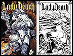 Lady Death Odyssey #2 10th Anniversary Print Set