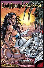 LADY DEATH vs PANDORA #1 Bikini Fun