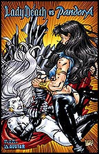 LADY DEATH vs PANDORA #1 Cat Fight