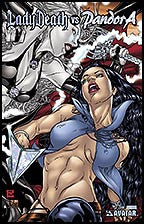 LADY DEATH vs PANDORA #1 Prism Foil