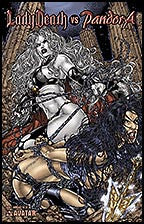 LADY DEATH vs PANDORA #1 Bondage