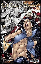 LADY DEATH vs PANDORA #1 Gold Foil