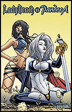LADY DEATH vs PANDORA #1 Martin