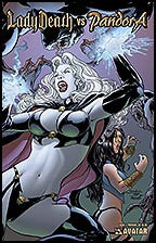 LADY DEATH vs PANDORA #1 Premium