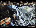 LADY DEATH vs PANDORA #1 Painted Wraparound