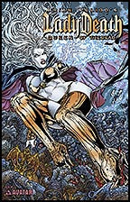 LADY DEATH: Queen of the Dead Gold Foil
