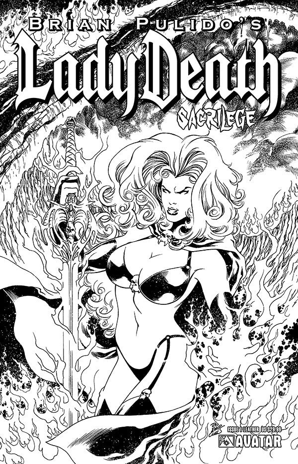 LADY DEATH: Sacrilege #1 Leather