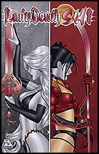 LADY DEATH / SHI Preview Ruby Red Con Foil