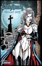 LADY DEATH Swimsuit 2005 Graveyard