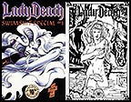 Lady Death Swimsuit 10th Anniversary Print Set