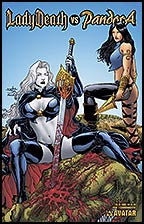 LADY DEATH vs PANDORA #1 Commemorative