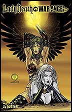 LADY DEATH vs. WAR ANGEL #1 Martin
