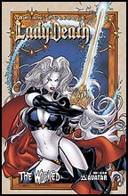 LADY DEATH: The Wicked #1 Gold Foil
