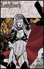 LADY DEATH Wicked #1 Hedonist by Carlos Ferreira Lithograph