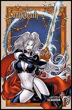 LADY DEATH : The Wicked #1 by Richard Ortiz Litho