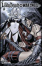 LADY DEATH vs WAR ANGEL #1 Towering