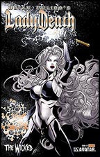 LADY DEATH: The Wicked #1/2 Gold Foil