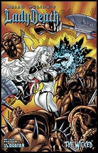 LADY DEATH: The Wicked #1/2 Hellcat