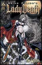 LADY DEATH: The Wicked #1/2 Commemorative