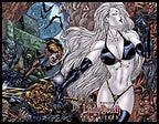 LADY DEATH: The Wicked #1/2 Wraparound