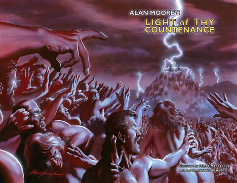 Alan Moore LIGHT OF THY COUNTENANCE GN Convention Edition