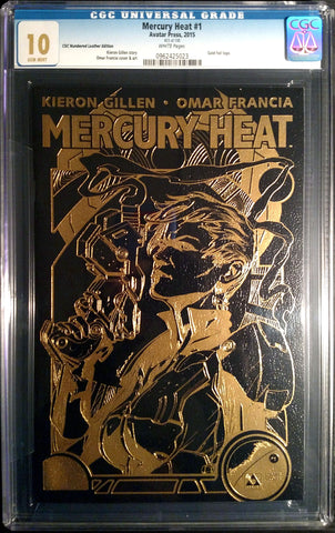 MERCURY HEAT #1 Leather CGC 10.0 - Numbered Edition