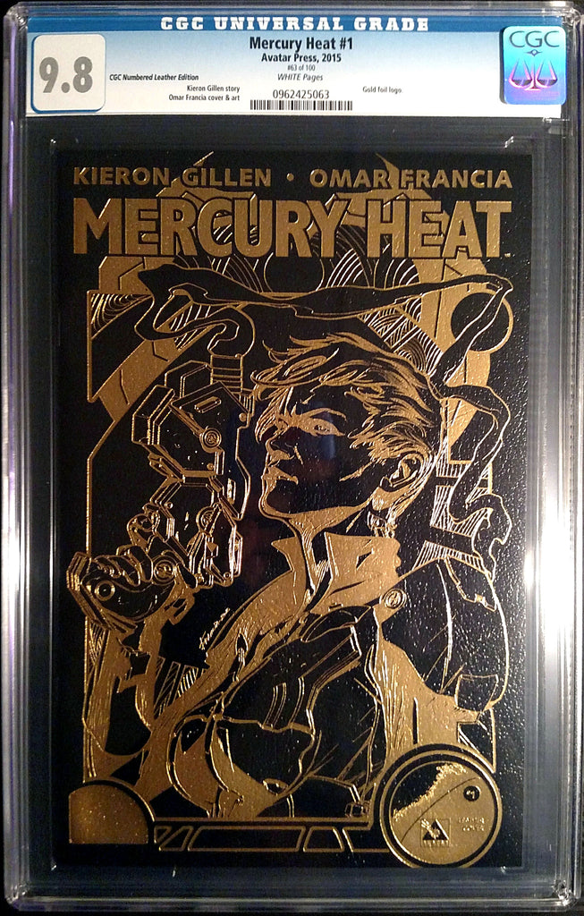 MERCURY HEAT #1 Leather CGC 9.8 - Numbered Edition