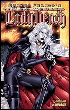 MEDIEVAL LADY DEATH #3 Castle Burn