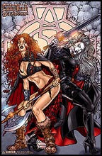 MEDIEVAL LADY DEATH / BELLADONNA #1 by Ryp Litho