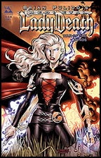 MEDIEVAL LADY DEATH: War of the Winds #1 Gold Foil