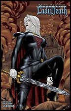 MEDIEVAL LADY DEATH: War of the Winds #2 War Worn
