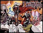 MEDIEVAL LADY DEATH: War of the Winds #6 Wraparound