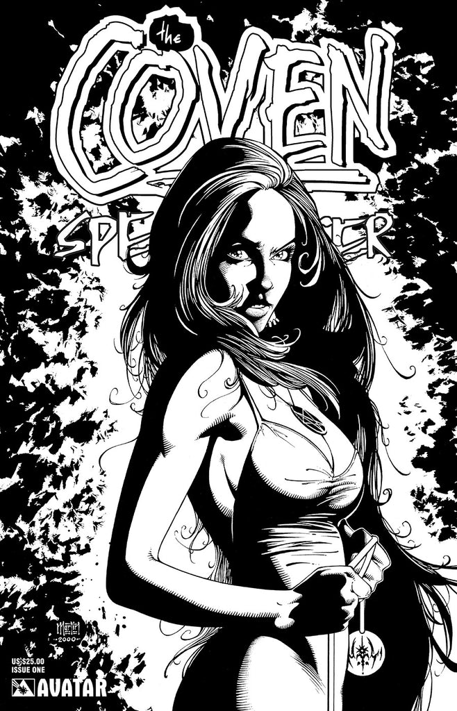Coven: Spellcaster #1 White Leather Cover
