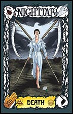 NIGHTJAR Hollow Bones #1 Tarot cover