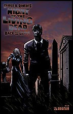 NIGHT OF THE LIVING DEAD:  Back From the Grave Black Foil
