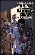 NIGHT OF THE LIVING DEAD:  Back From the Grave Splatter Stock
