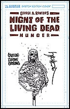 NIGHT OF THE LIVING DEAD: Hunger Burrows Sketch cover
