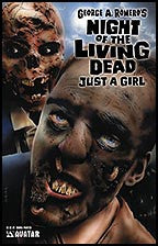NIGHT OF THE LIVING DEAD: Just a Girl Rubira Painted
