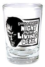 NIGHT OF THE LIVING DEAD Shot glass
