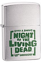 NIGHT OF THE LIVING DEAD 40th Anniversary Zippo